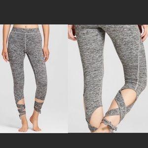 Mossino Wrap-Around Tie Leggings